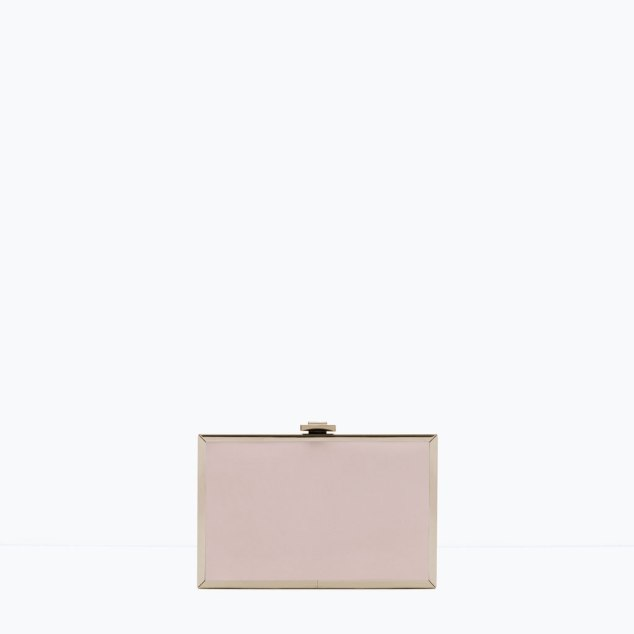 Zara two tone clutch - $49.50 available here