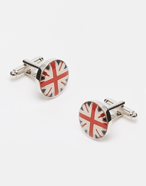 Simon Carter Cufflinks (Sage would rather the US flag!) available here